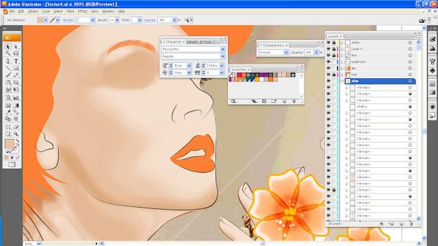 Art Li and Stuff - Tangerine Lady [never ending] WIP