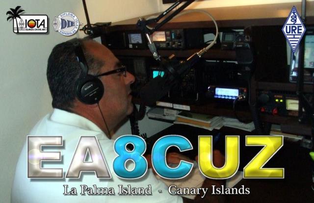 QSL - EA8CUZ - QSO Sat. AO91 - 26/11/2017 - Canarias Island - Africa