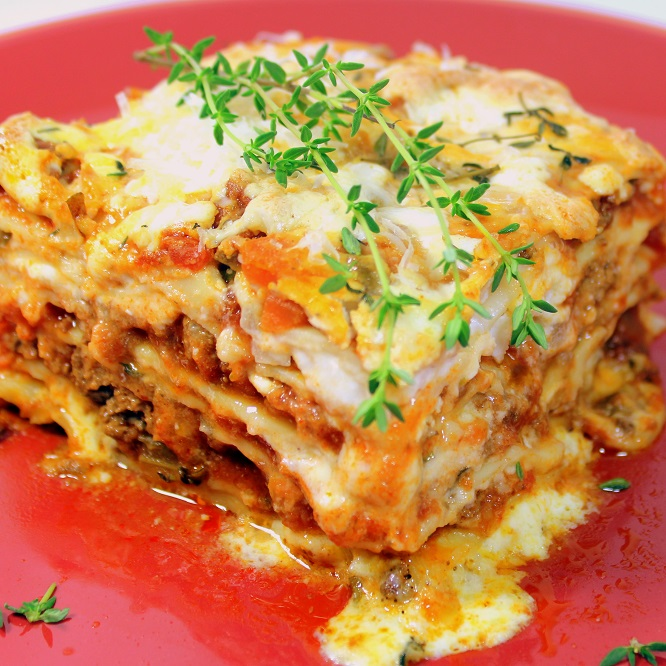noodle recipes lasagna ramen Lasagna for a PotLuck Thyme By Church eRecipeCards: Dish Main