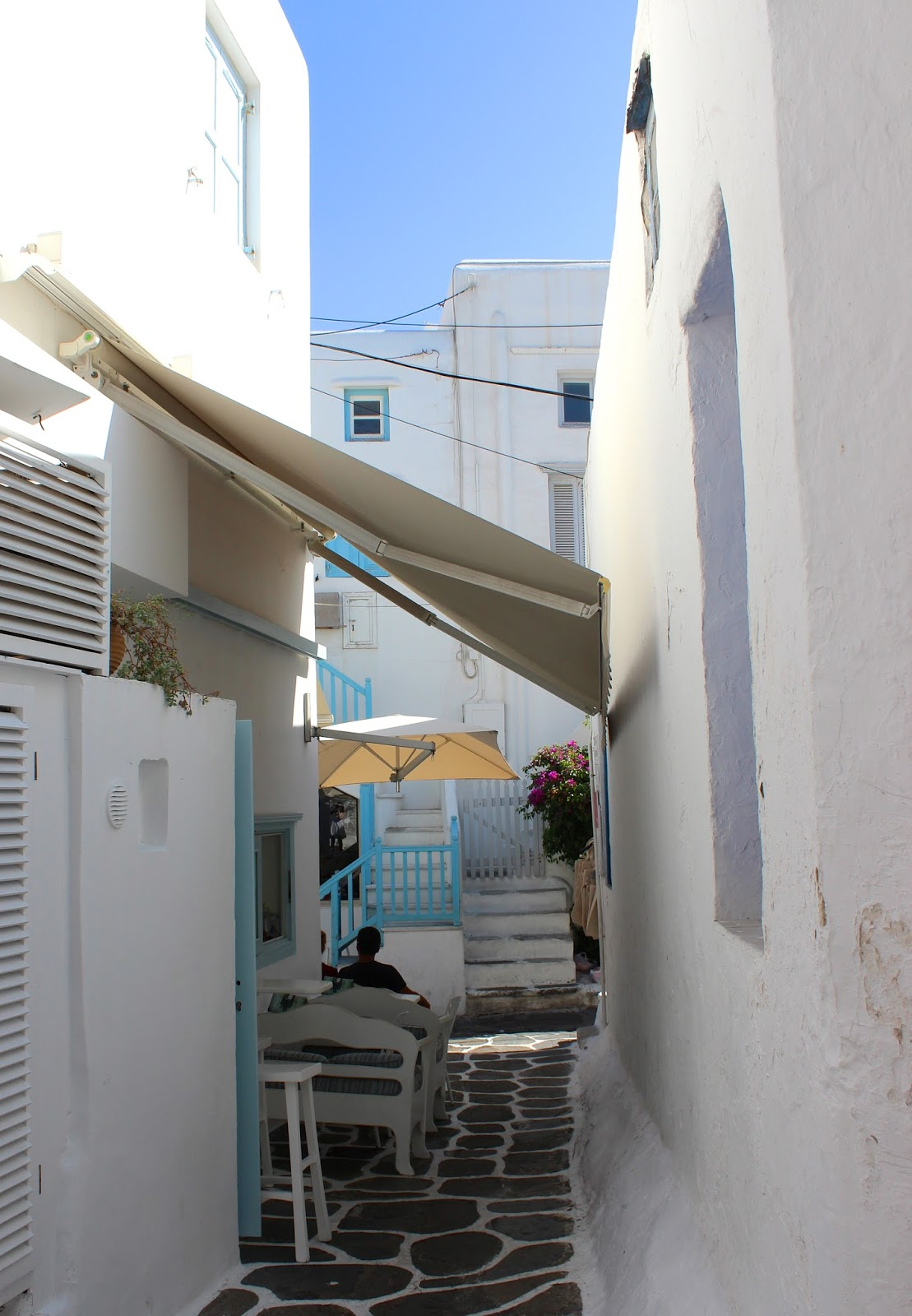 Mykonos Narrow Street