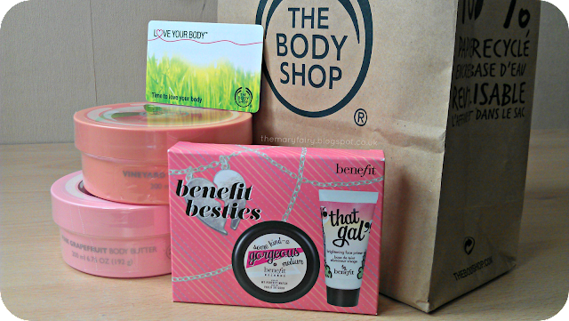 the body shop and boots haul