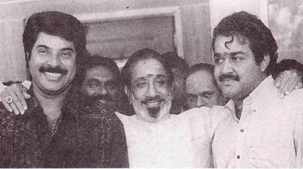 Mammooty, Shivaji Ganesan & Mohan lal