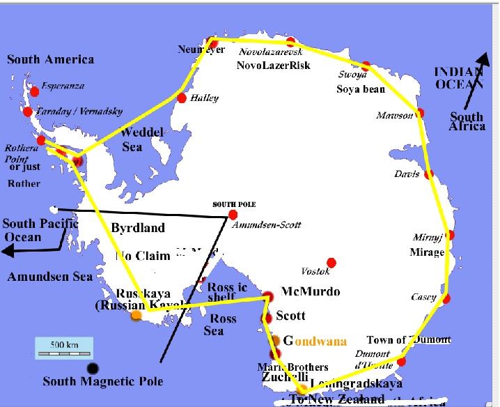 Rick potvins virtual circumnavigation of antarctica to decide if aerial circumnavigation of antarctica flight plans of globe vs flat earth gumiabroncs Choice Image