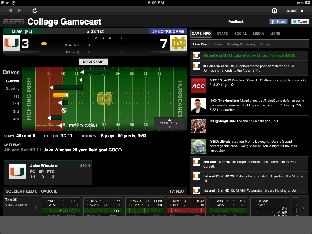 espn college picks espn college gamecast
