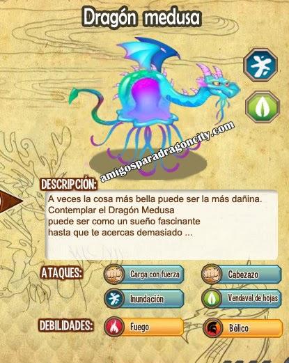 imagen de las caracteristicas del dragon medusa