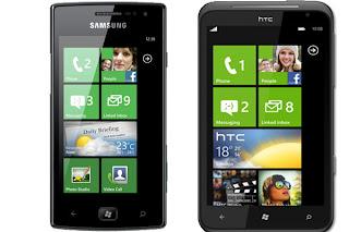 Samsung Omnia W Vs HTC Titan