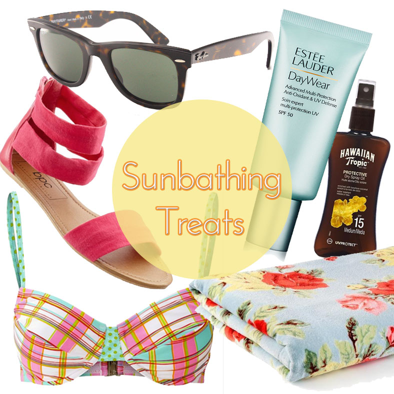sunbathing essentials