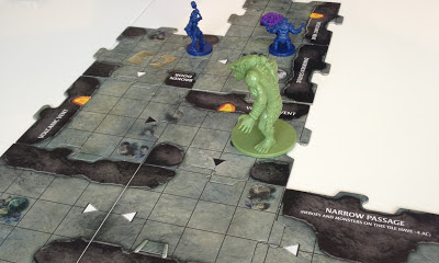 Legend of Drizzt Board Game Review Troll