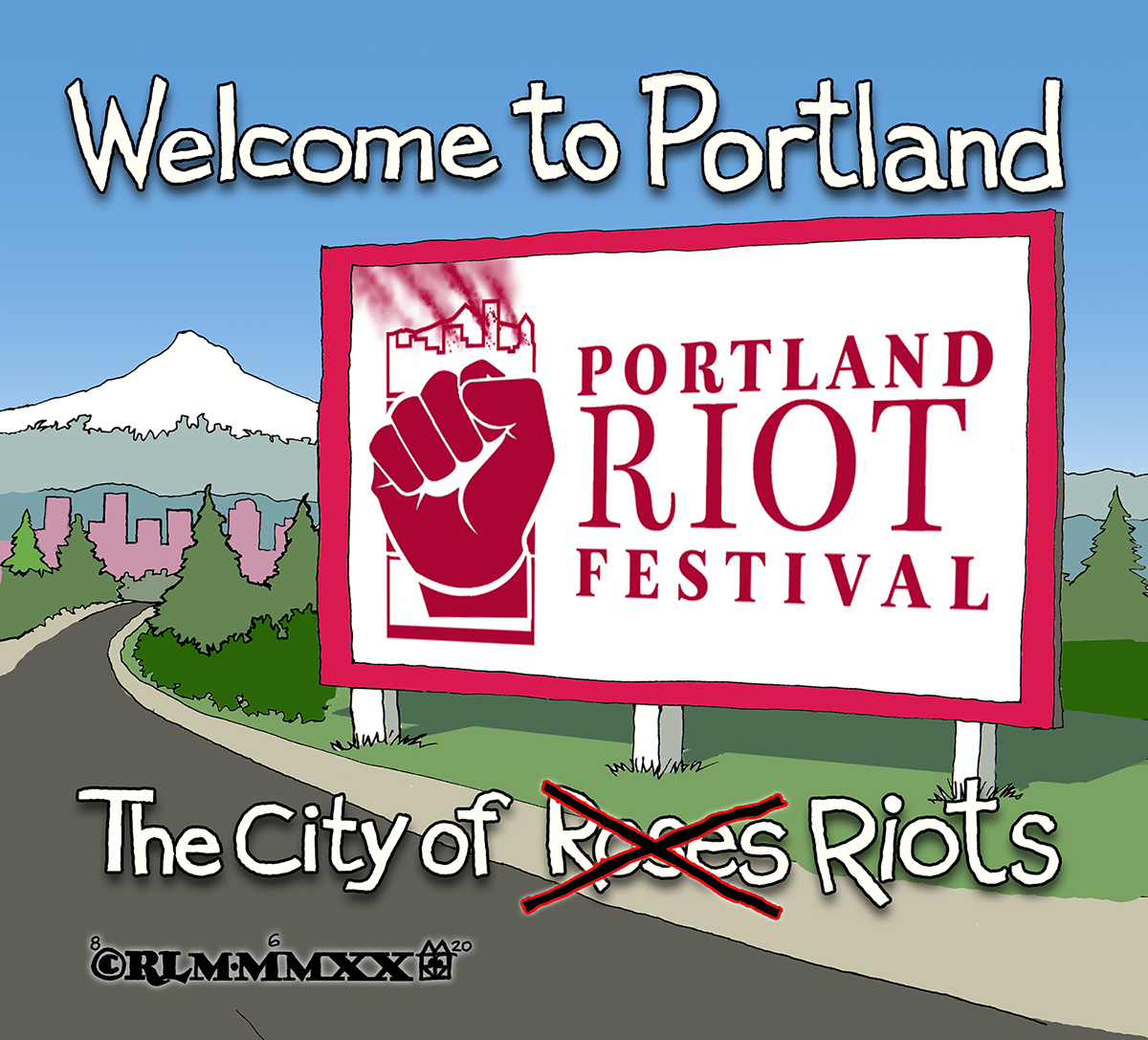THE CITY OF RIOTS