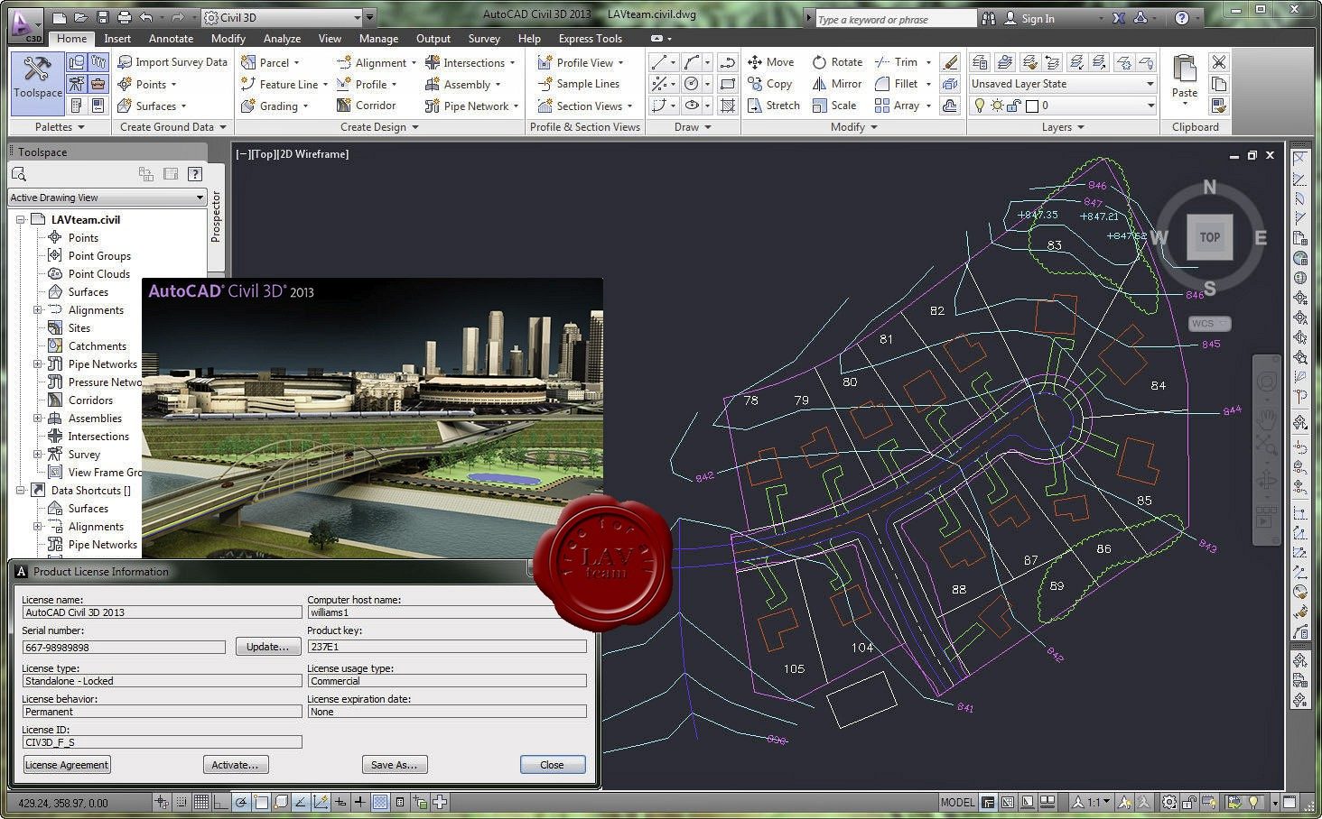 autocad 2013  with crack 32 bit