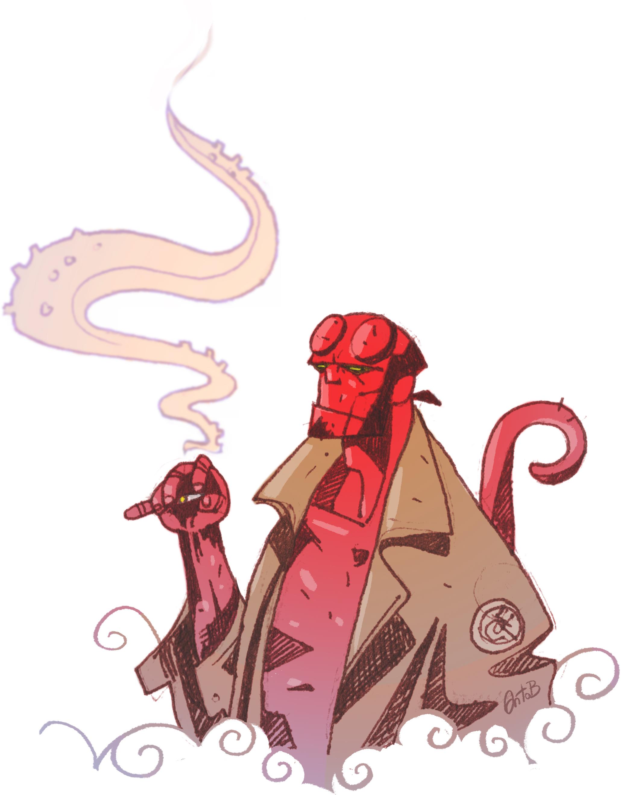 La Chicharra de Hellboy