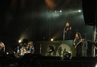 Metallica concert picture