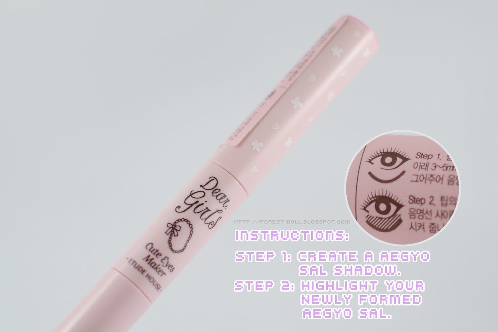 Etude House Dear Girls Cute Eyes Maker Review