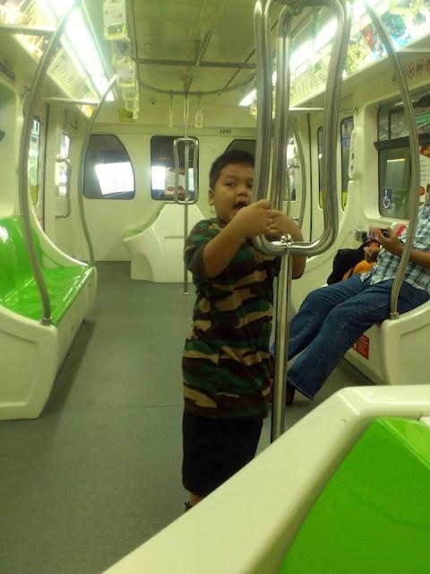 Menuju ke Stesen Monorel Chow Kit