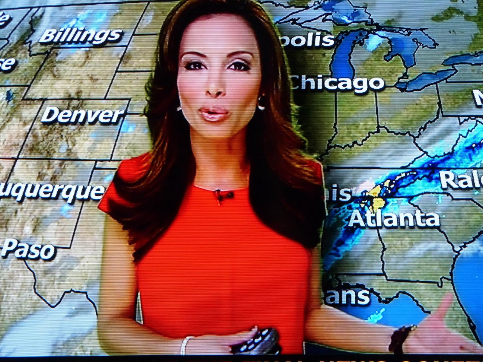 Maria Molina sexy Meteorologist sexy weather girl and a very