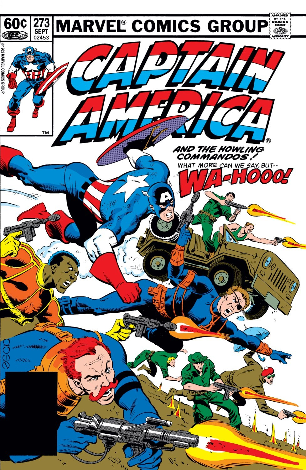 Captain America (1968) Issue #273 #189 - English 1
