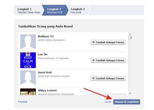 Langkah-langkah Mendaftar Akun Facebook Bahasa Indonesia