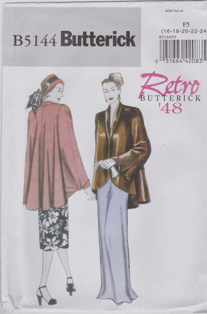 Flashback Summer: 1948 Coat Debut- Retro Butterick '48/ B5144/ vintage sewing pattern/ outfit