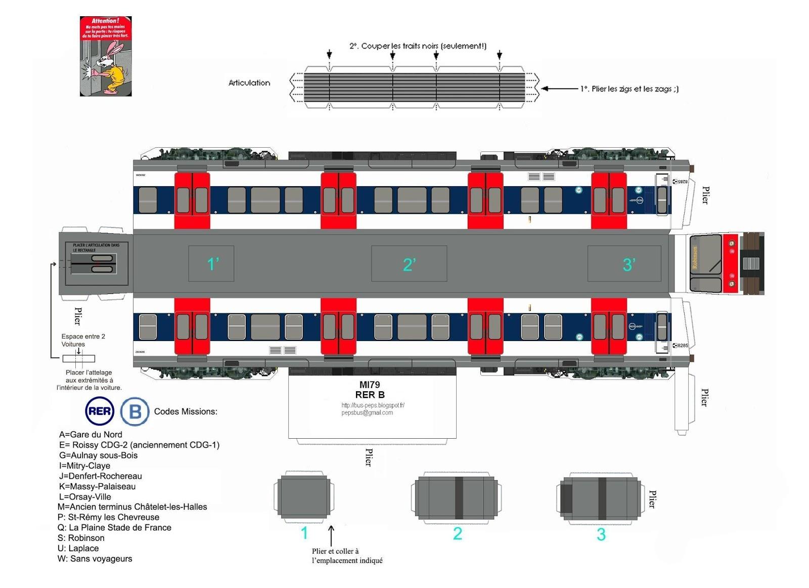Maquette papier mi79 - Comment dessiner un train ...