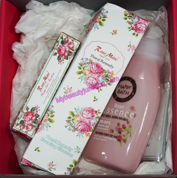 Memebox Colour and Scent Bundles 1 review, unboxing