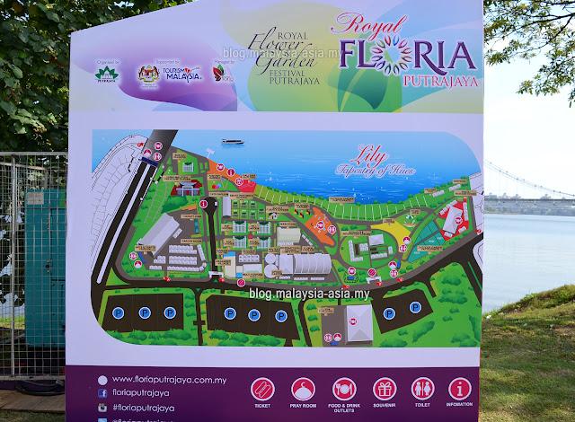 Map of Royal Floria 2015
