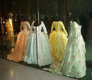 Long Hoop Skirts