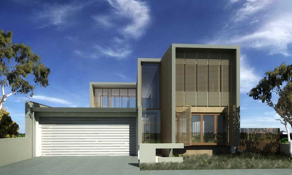 3D Modern House Plan Designs