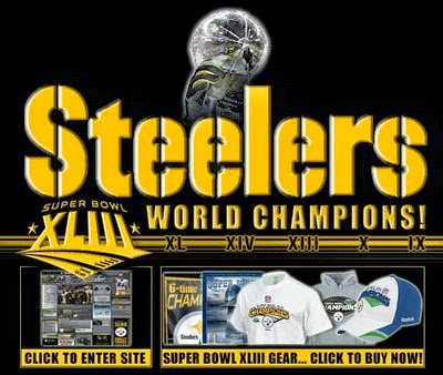 Steelers Super Bowl Champs