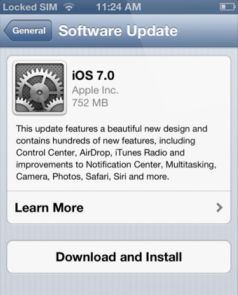 Apple iOS 7 - how to update your iPhone
