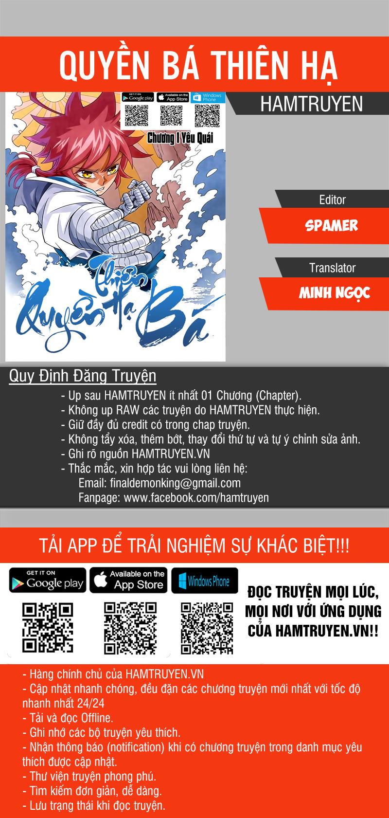 Quyền Bá Thiên Hạ - Chap 185
