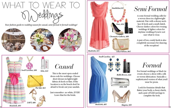 LPF Mag Issue #3: What to Wear to Weddings