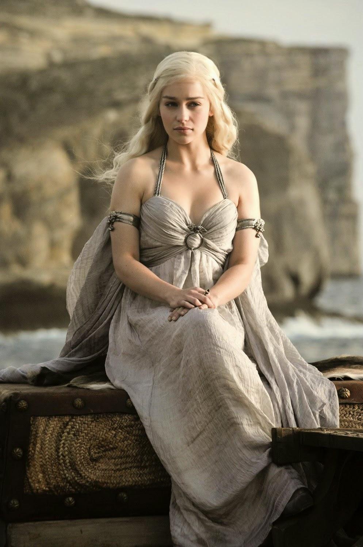 Daenerys Targarien, a sárkányok anyja, a vastrón eredeti várományosa