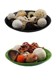 Esferas Decorativas, Fibras Naturales, Platones