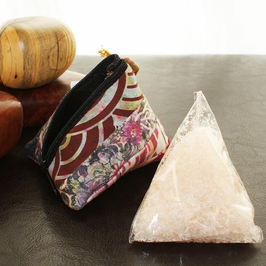 sel pour le bain à la vanille