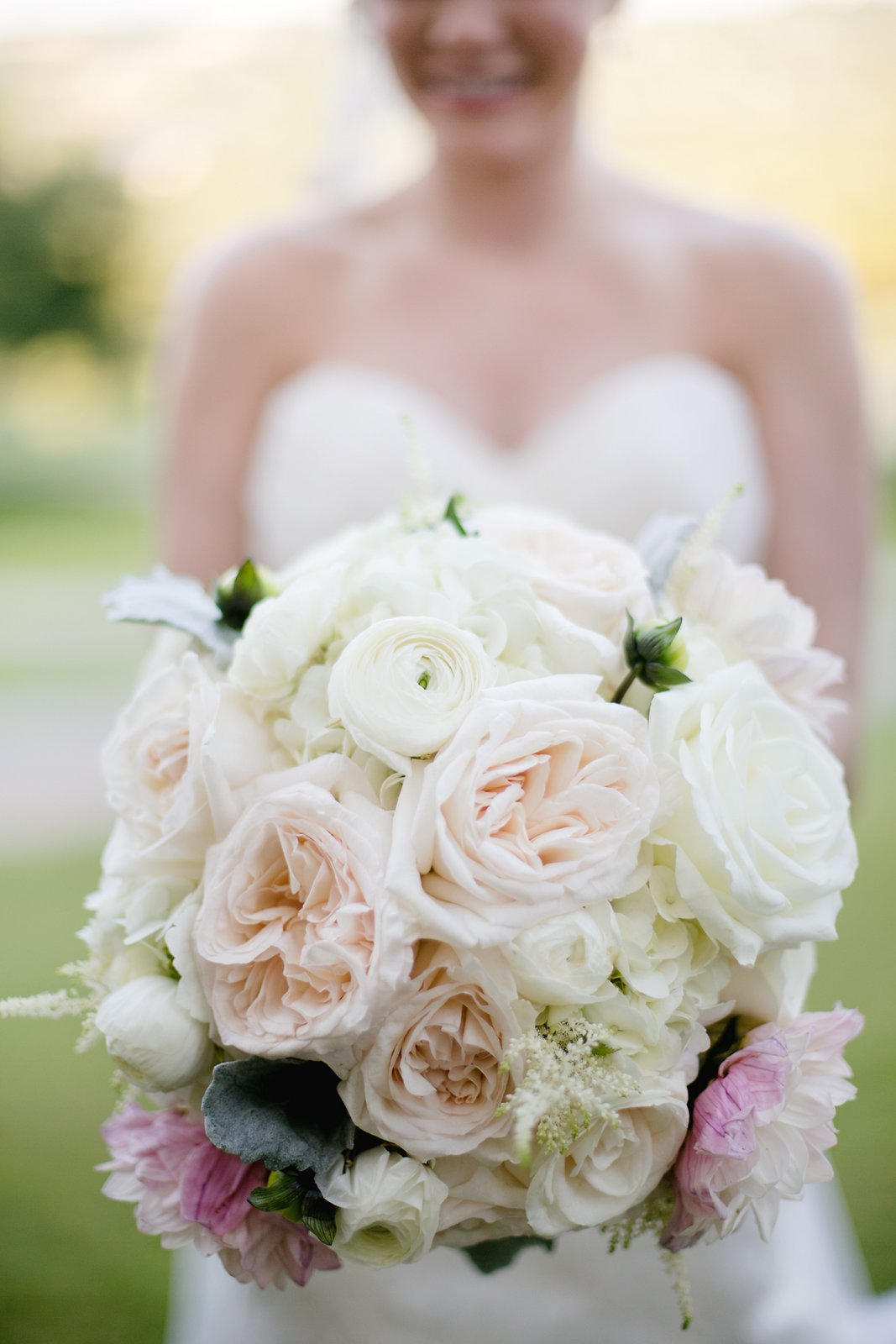Friday Photo Spotlight Soft Sweet Romantic Bridal Bouquet