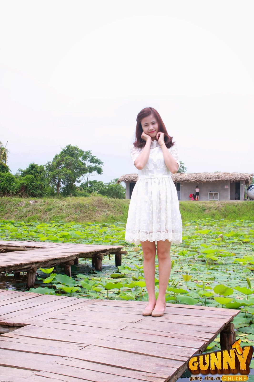 Thí sinh dự thi Nữ Hoàng Cổ Động Nguyễn Thị Thủy 3