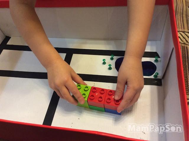 строим город в коробке