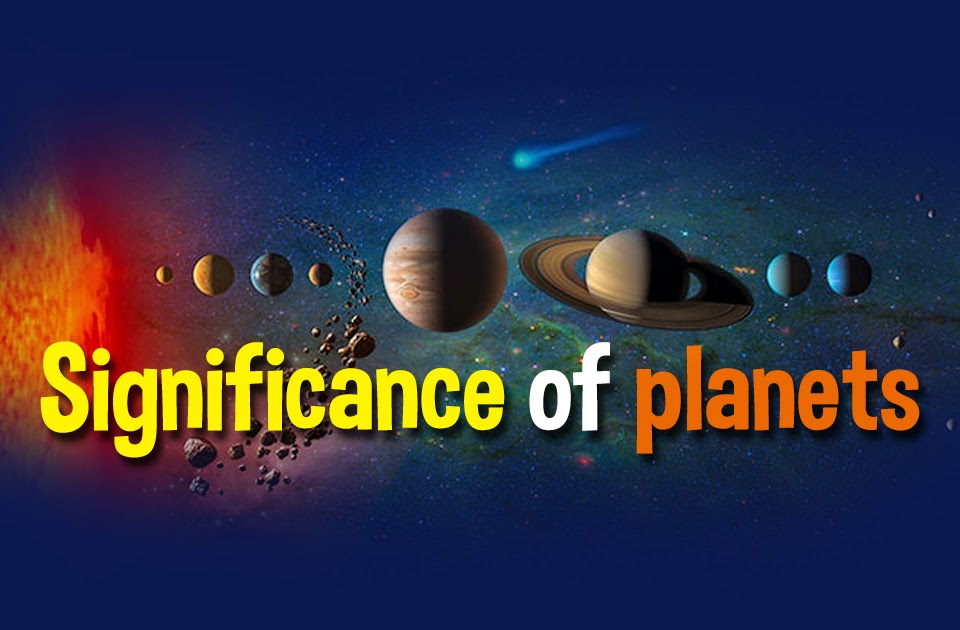 Significance of planets