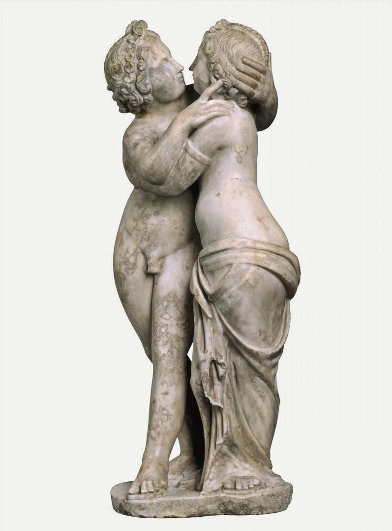 Eros y Psique. 2ºmitad II dC. Staatliche Kunstsammlungen Dresden. © Skulpturensammlung, Staatliche Kunstsammlungen Dresden