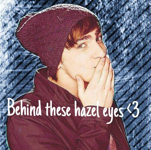 Behind these hazel eyes