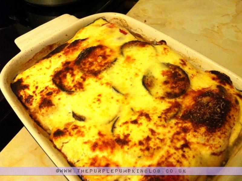Veggie #Vegetarian Moussaka Recipe