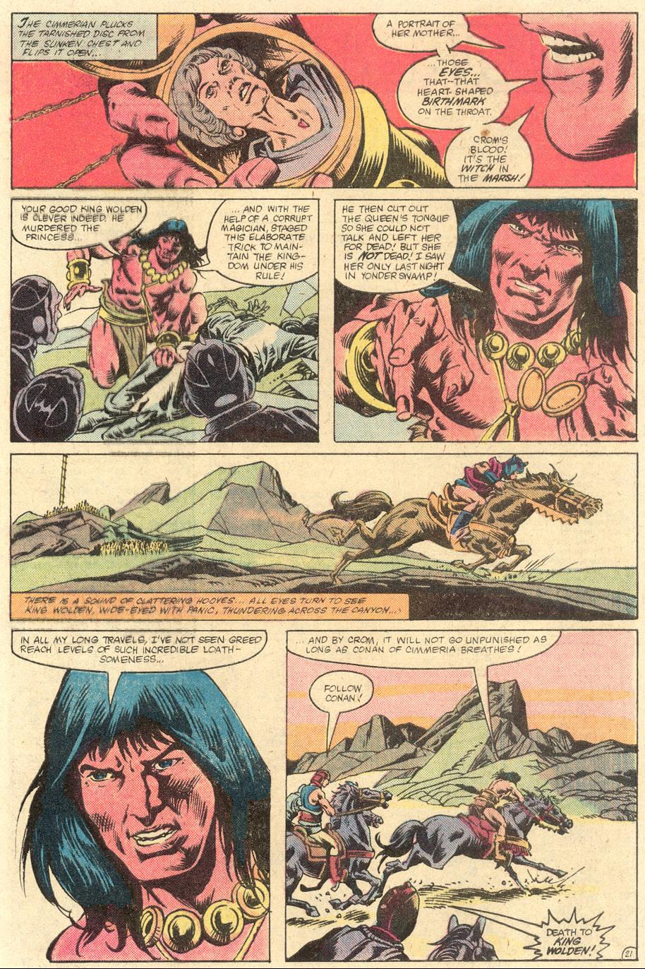 Conan the Barbarian (1970) Issue #133 #145 - English 23