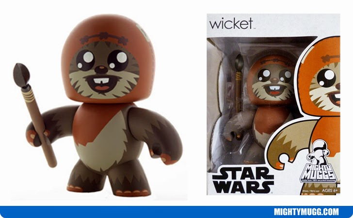 Wicket Star Wars Mighty Muggs Wave 8