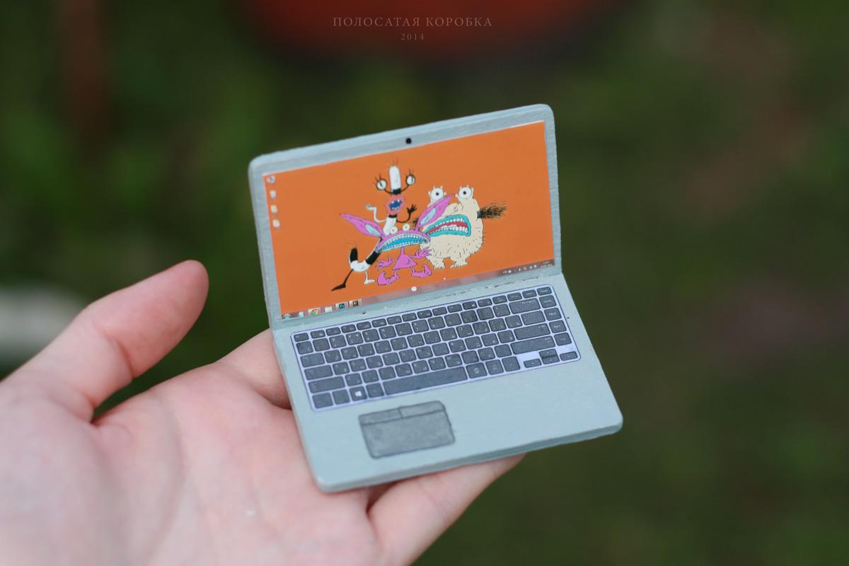 Миниатюрный ноутбук