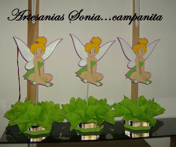 Artesanias Sonia: Centros de mesa Campanita