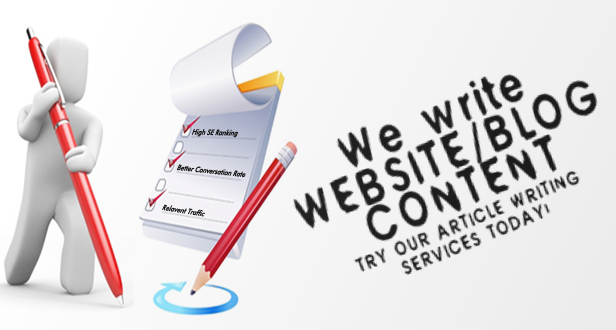 Website Content Writing Services in India
