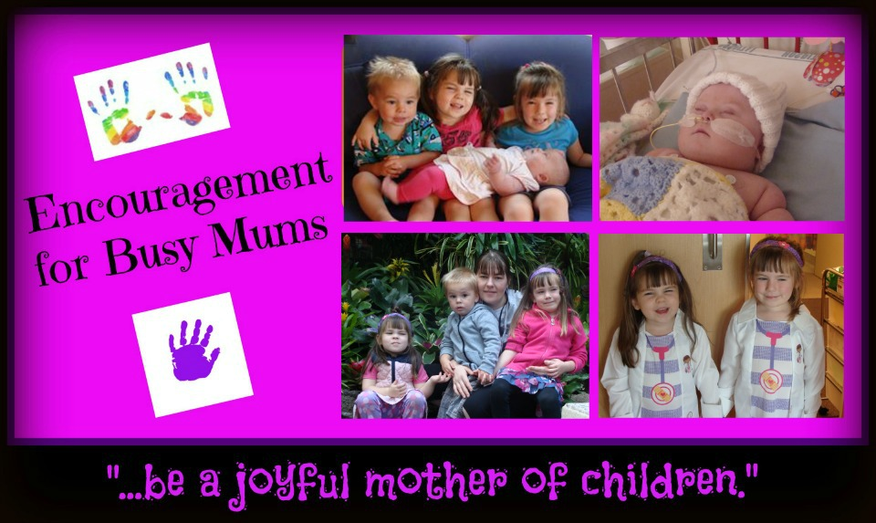 Encouragement for Busy Mums