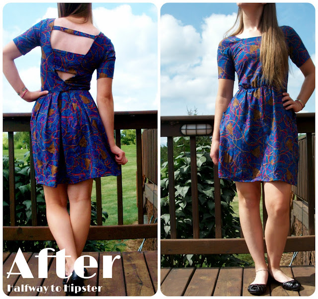 Tassel Dress Refashion