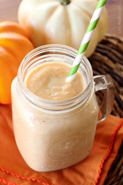 Smashed Pumpkin Smoothie