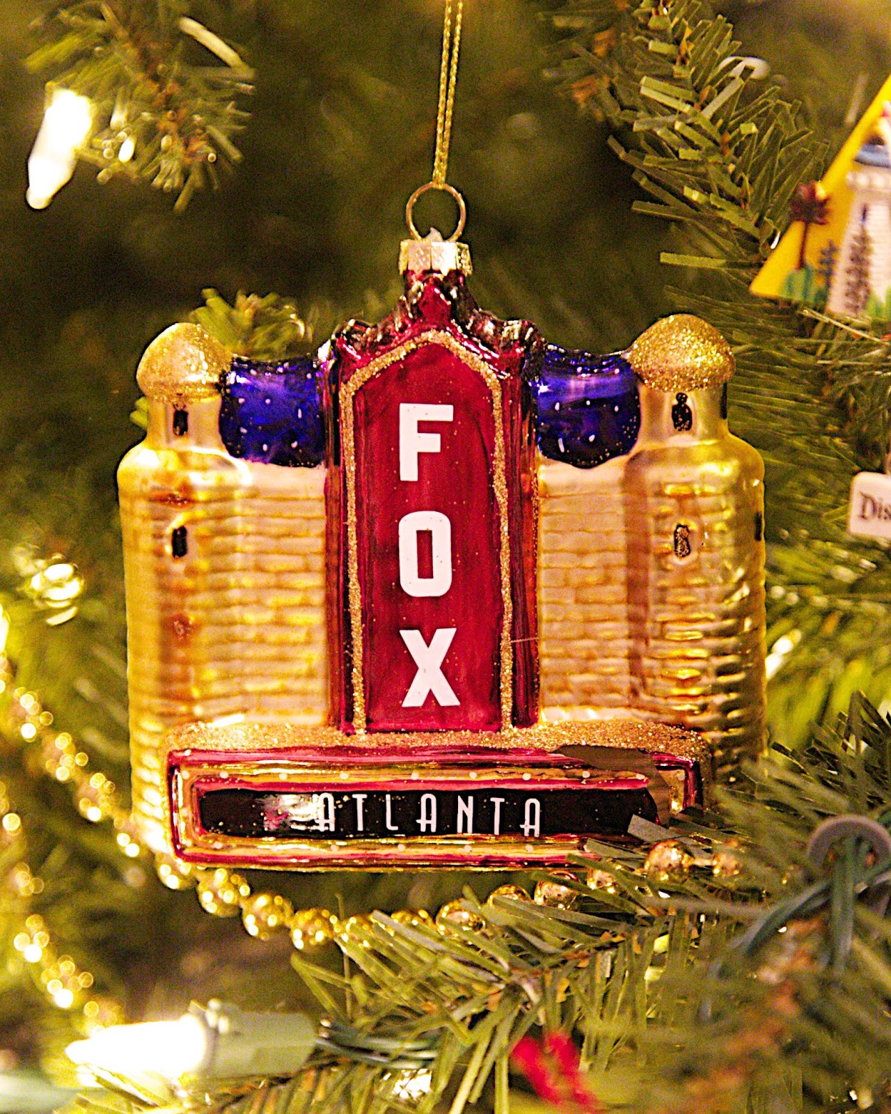 The Fox Theater Ornament